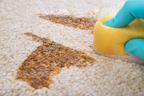Как да почистим петна от килима?